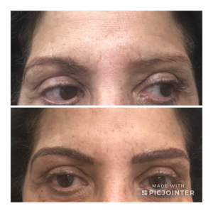 Eye brows Microblading